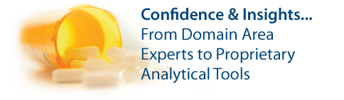 Confidence &amp; InsightsFrom Domain Area Experts to Proprietary Analytical Tools